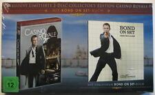 JAMES BOND CASINO ROYAL - 2 DVD COLLECTOR'S EDITION INCL. BOND ON SET BUCH - OVP