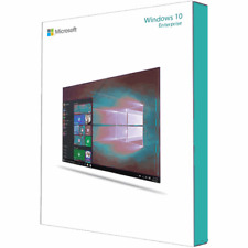 Windows 10 Enterprise 32-bit and 64-bit ISO Digital Download - No Product Key