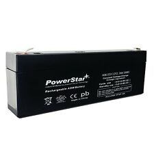 Power Sonic PS1220 Replacement Battery by PowerStar - 2 Year Warranty 2.3AH