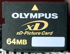 Olympus 64mb xd card, made in Japan.