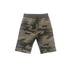 Pantaloni Tuta Corti Sportivo Laccetti Mimetico Cotone Casual Street Style