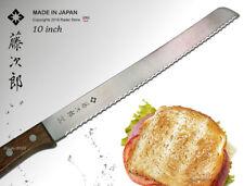 Tojiro Japanese Bread Knife 10 inch Kitchen Cutlery Bake Tool Wood Handle NEW