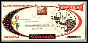 GP GOLDPATH: INDONESIA COVER 1963 FIRST FLIGHT COVER _CV746_P08