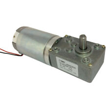 3 Rpm Electric Gear Motor 12v Low Speed Gearmotor Dc Worm Reversible For Bbq
