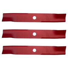 "Set of 3 OEM Exmark 18"" Blades 103-6392-S Lazer Z Turf Tracer"