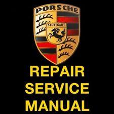 PORSCHE BOXSTER 986 1996 1997 1998 1999 2000 2001 SERVICE REPAIR MANUAL