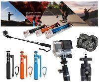 3 Selfie Sticks 19″ U-Shot Telescopic XSories Poles for Action & Compact Cameras