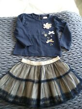Age 0-3 Months BNWOT Mini B Sample Vest // Top Cream /& Pink Girls