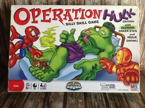 OPERATION HULK - SILLY SKILL GAME - MILTON BRADLEY GAMES TESTED WORKING NC