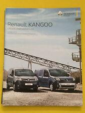 Renault Kangoo Van Maxi Crew official sales brochure catalogue October 2015 MINT