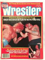 The Wrestler Magazine October 1983 Wrestling Ric Flair Race Olympia Briscos