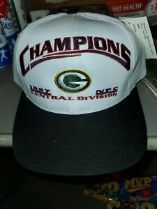 NFL GREEN BAY PACKERS 1997 NFC CENTRAL DIVISION CHAMPIONS Champions HAT