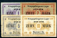 Bautzen 4 Scheine KGL ........................................................z7