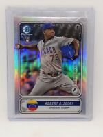 2020 Adbert Alzolay Bowman Chrome Rookie Venezuela Insert Chicago Cubs