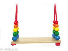 Brettschaukel Schaukel aus Holz Garten Kinder Spielzeug Gartenschaukel