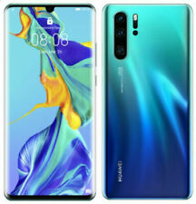 "Huawei P30 Pro Dual SIM Aurora 512GB 8GB 6.47"" Kirin 980 IP68 Phone By FedEx"