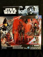 "Star Wars Rebels DARTH MAUL vs SEVENTH SISTER 2-Pack 3.75"" Hasbro Figures MIB"