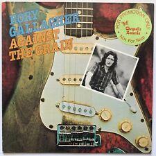 Rory Gallagher - Against The Grain - 1975 - Vinyl Record LP - PROMO COPY