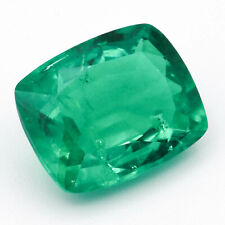 2.81ct Colombian Hydrothermal Emerald Lab Created Loose Stone