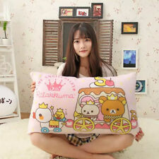 Case Pillow Rilakkuma 68*42cm San-x Bear Cute Relax Baby Cover Gift