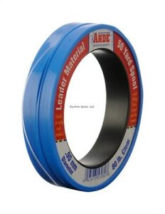Ande S50-300C Mono Leader Coil 300lb 50yd Clear