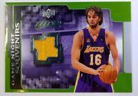 2008-09 Upper Deck MVP Game Night Souvenirs Pau Gasol #GN-PG Los Angeles Lakers