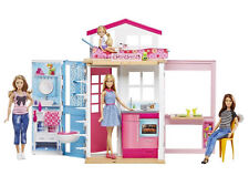 Barbie DVV48 2-Story House and Doll NEW