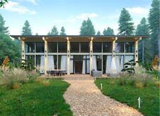 1340 Sqft Timber Frame Kit Tf B 1532loft Wood Prefab Diy Building House Cabin