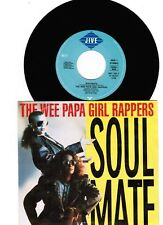 "THE WEE PAPA GIRL RAPPERS (7""SINGLE) ""SOULMATE"" [GER / 1988 / JIVE REC.]  PR Cop"
