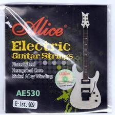 5 x Single Electric Guitar Strings Strings 9s 10s Top E 1st Plain Steel