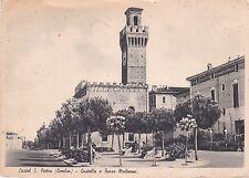 CASTEL S.PIETRO (Bologna) - Castello e Torre Malvezzi 1941