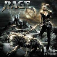 "RAGE ""FULLMOON IN ST. PETERSBURG"" CD+DVD NEW"