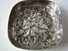 Cesa argento 800 ciotola con foglie cesellate g 185