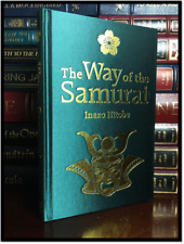 Way of the Samurai by Inazo Nitobe New Illustrated Deluxe Silk Bound w/ Slipcase