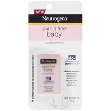 Neutrogena Pure & Free Baby Sunscreen Stick Broad Spectrum SPF 60