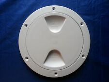 TRN0709  102mm (inside) white inspection hatch.  Same Postage for any amount