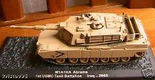 CHAR D'ASSAUT M1A1HA ABRAMS IRAQ 2003 1/72 TANK USA