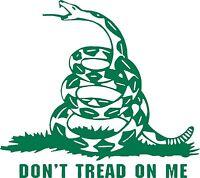 Don't Tread On Me Snake Guns Freedom Car Truck Window Laptop Vinyl Decal Sticker