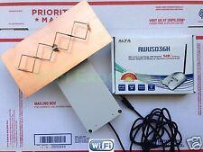 WiFi Antenna ALFA AWUS036H OUTDOOR 8M Double Biquad Long Range GET FREE INTERNET