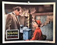 All About Eve Original Movie Poster Lobby Card Bette Davis *Hollywood Posters