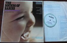 SOUNDS OF BABIES BY THE BABIES THEMSELVES LP MONUMENT (1967) EX FOR NEW PARENTS