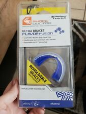 Shock Doctor Ultra Braces Flavor Fusion Adult 12+ Blueraz 4953A