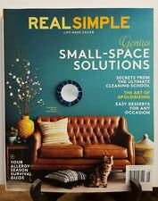 Real Simple Small Space Solutions Cleaning Secret Allergy May 2016 FREE SHIPPING