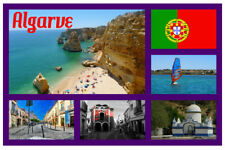 ALGARVE, PORTUGAL - SOUVENIR NOVELTY FRIDGE MAGNET - GIFTS / SIGHTS / FLAGS