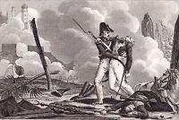 Tropenas Saint Jean d'Acre NAPOLEON Bonaparte Campagne d'Egypte Empire 1825