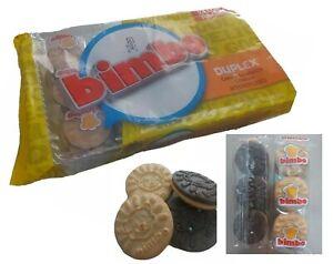 BIMBO DUPLEX COOKIES CREME SANDWICH COOKIES GALLETAS BIMBO BAG 10PKS Tray