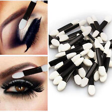 Disposable Sponge Make-Up Cosmetics Eye Shadow Eyeliner Lip Brush Applicator 50X