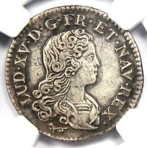 1720-A France Louis XV French Colonies 20 Sols Coin 20S KM-453 - NGC AU Details