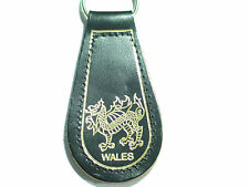 Wales Leather Keychain