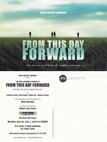 FROM THIS DAY FORWARD - A PLAY ADVERTISING UNUSED COLOUR POSTCARD